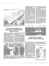 Maritime Reporter Magazine, page 14,  Jan 15, 1986 Mike Gnau