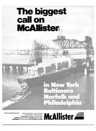 Maritime Reporter Magazine, page 1,  Jan 15, 1986