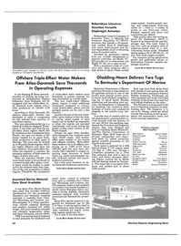 Maritime Reporter Magazine, page 32,  Jan 15, 1986