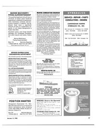 Maritime Reporter Magazine, page 35,  Jan 15, 1986
