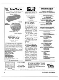 Maritime Reporter Magazine, page 2,  Jan 15, 1986
