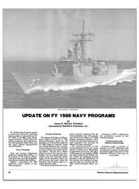 Maritime Reporter Magazine, page 24,  Feb 1986 Department of Defense