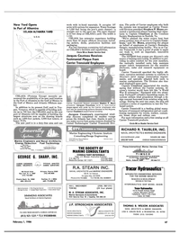 Maritime Reporter Magazine, page 45,  Feb 1986 Connecticut