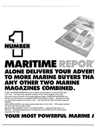 Maritime Reporter Magazine, page 48,  Feb 1986 United States