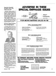 Maritime Reporter Magazine, page 57,  Feb 1986 Oregon