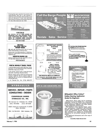 Maritime Reporter Magazine, page 59,  Feb 1986 Louisiana