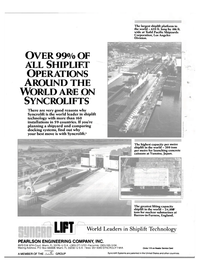 Maritime Reporter Magazine, page 4th Cover,  Feb 1986 United Kingdom