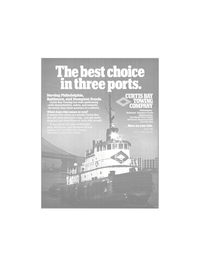 Maritime Reporter Magazine, page 15,  Mar 1986 towage services