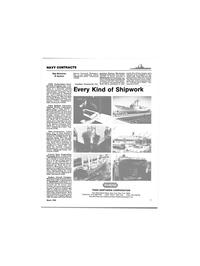 Maritime Reporter Magazine, page 17,  Mar 1986 Maryland
