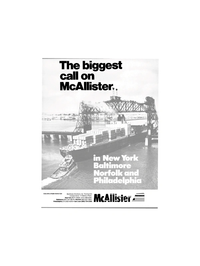 Maritime Reporter Magazine, page 1,  Mar 1986 Reader Service Card McAllister Brothers Inc.