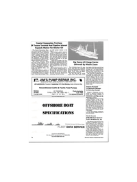 Maritime Reporter Magazine, page 3rd Cover,  Mar 1986 Florida