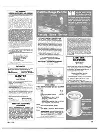 Maritime Reporter Magazine, page 101,  Apr 1986