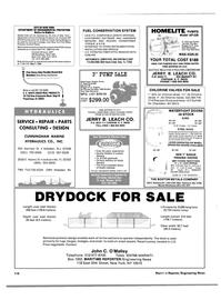 Maritime Reporter Magazine, page 102,  Apr 1986