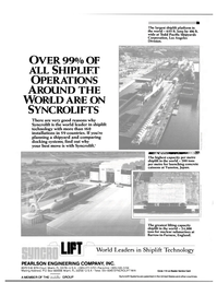 Maritime Reporter Magazine, page 4th Cover,  Apr 1986 Japan