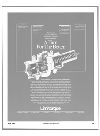 Maritime Reporter Magazine, page 9,  Apr 1986 Limitorque Corporation