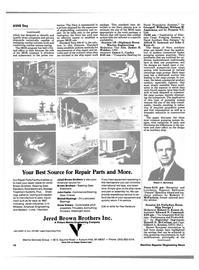 Maritime Reporter Magazine, page 12,  Apr 1986 James H. Webber