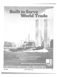 Maritime Reporter Magazine, page 13,  Apr 1986