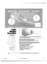 Maritime Reporter Magazine, page 21,  Apr 1986 TRE-ASTECH?? MARINE PRODUCTS DIVISION