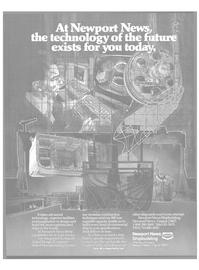 Maritime Reporter Magazine, page 23,  Apr 1986 Newport News shipbuilding