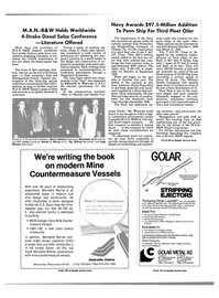 Maritime Reporter Magazine, page 32,  Apr 1986