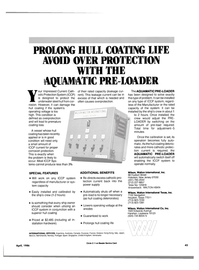 Maritime Reporter Magazine, page 41,  Apr 1986