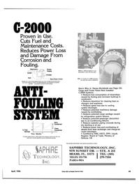 Maritime Reporter Magazine, page 45,  Apr 1986