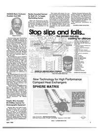 Maritime Reporter Magazine, page 3,  Apr 1986 Larry French