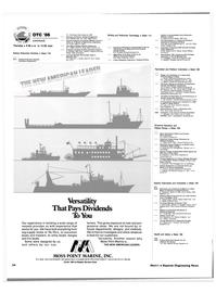 Maritime Reporter Magazine, page 50,  Apr 1986