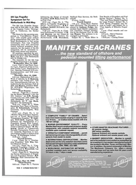 Maritime Reporter Magazine, page 61,  Apr 1986 J. Romsom