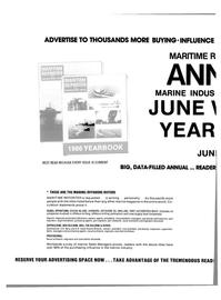 Maritime Reporter Magazine, page 64,  Apr 1986