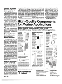 Maritime Reporter Magazine, page 5,  Apr 1986