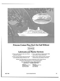 Maritime Reporter Magazine, page 69,  Apr 1986