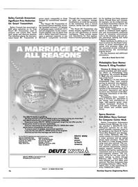 Maritime Reporter Magazine, page 72,  Apr 1986