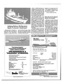 Maritime Reporter Magazine, page 80,  Apr 1986 Jim P. Stevens