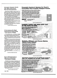Maritime Reporter Magazine, page 89,  Apr 1986