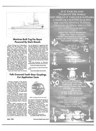 Maritime Reporter Magazine, page 95,  Apr 1986