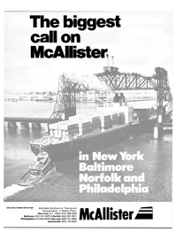 Maritime Reporter Magazine, page 1,  May 1986