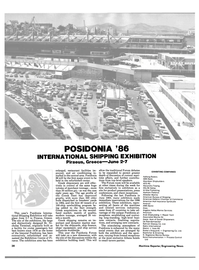 Maritime Reporter Magazine, page 36,  May 1986