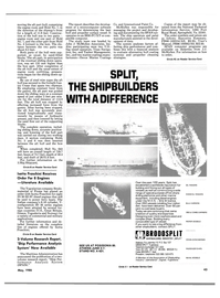 Maritime Reporter Magazine, page 41,  May 1986