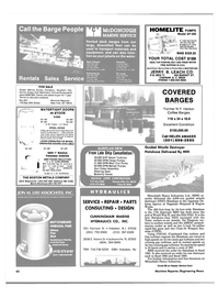 Maritime Reporter Magazine, page 58,  May 1986