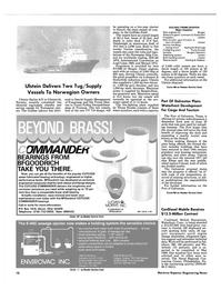 Maritime Reporter Magazine, page 8,  Jun 1986