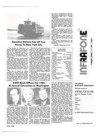 Maritime Reporter Magazine, page 9,  Jun 1986