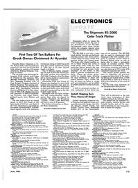 Maritime Reporter Magazine, page 115,  Jun 1986