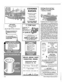 Maritime Reporter Magazine, page 118,  Jun 1986