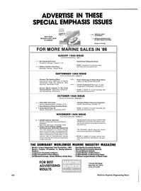 Maritime Reporter Magazine, page 120,  Jun 1986
