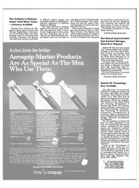 Maritime Reporter Magazine, page 14,  Jun 1986
