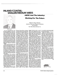 Maritime Reporter Magazine, page 50,  Jun 1986