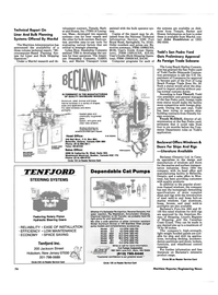 Maritime Reporter Magazine, page 74,  Jun 1986