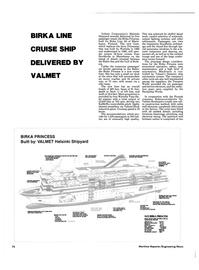 Maritime Reporter Magazine, page 76,  Jun 1986