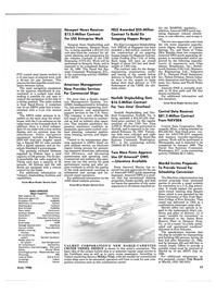 Maritime Reporter Magazine, page 77,  Jun 1986